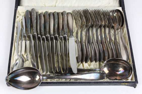Cross band Cutlery set for 10 people including - photo 1