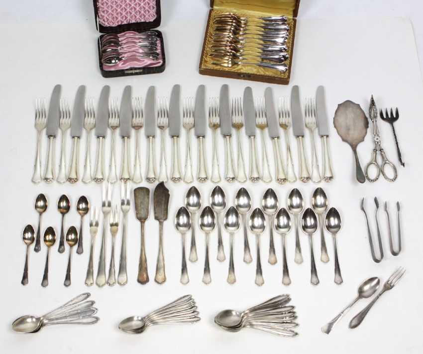 Silver Cutlery Baroque Form - photo 1