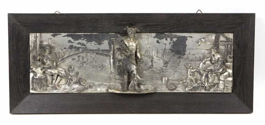 silver plated wall relief *trade* - photo 1