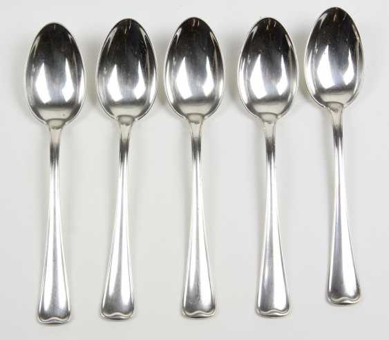 Set Of Coffee Spoons - Silver 800 - photo 1