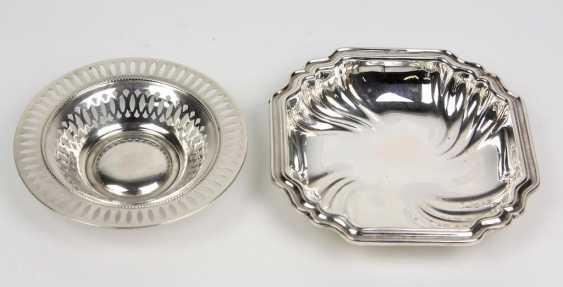 2 silver bowls - photo 1
