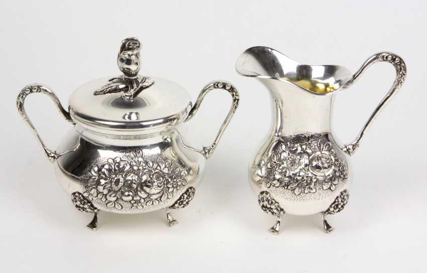 Sugar And Cream Set - Silver - photo 1