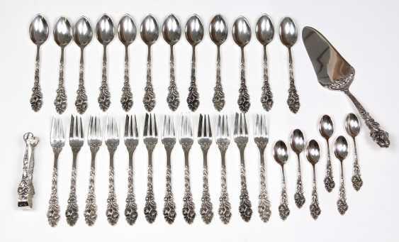 silver cake Cutlery *Rose* - photo 1