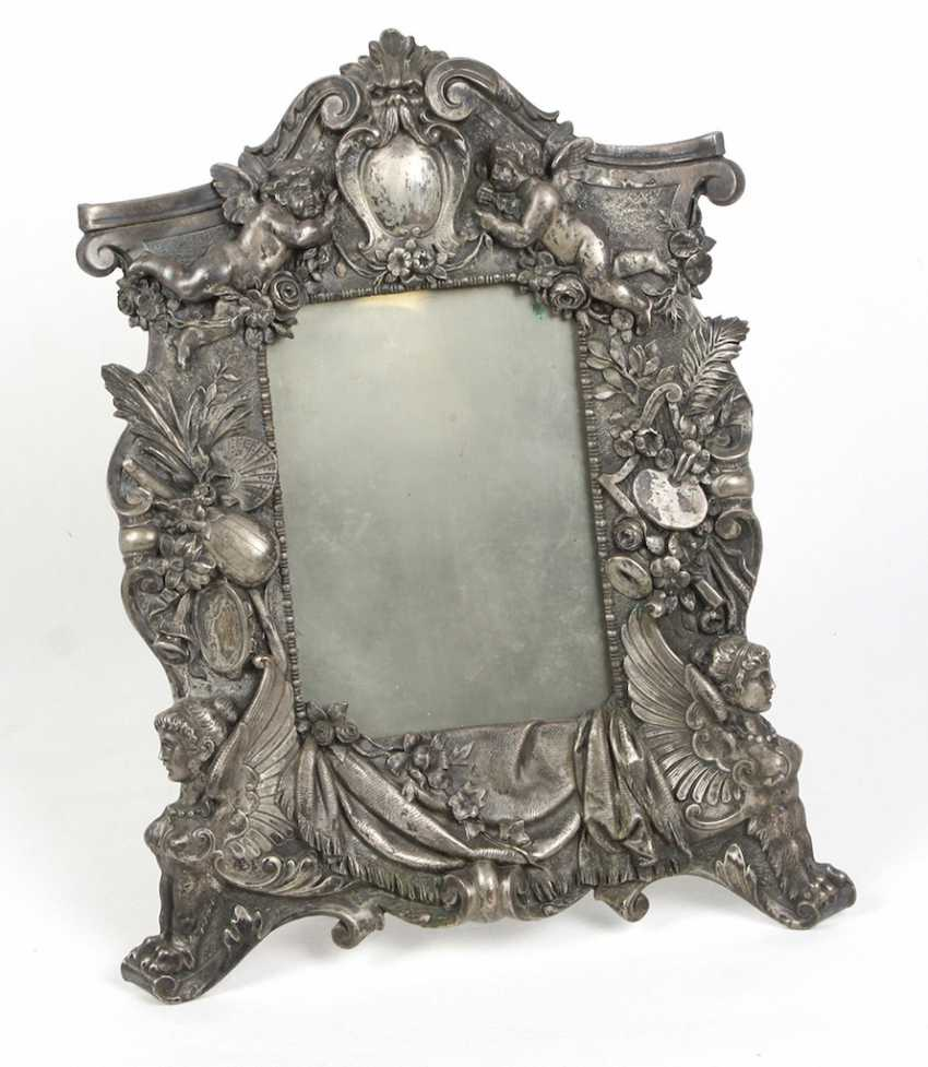 Green currently, picture frame stand, around 1880 - photo 1