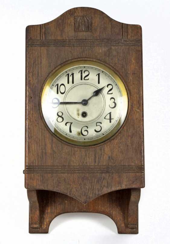 Art Nouveau wall clock 1900 - photo 1