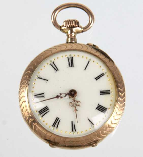 Art Nouveau Ladies Pocket Watch - Yellow Gold 333 - photo 1