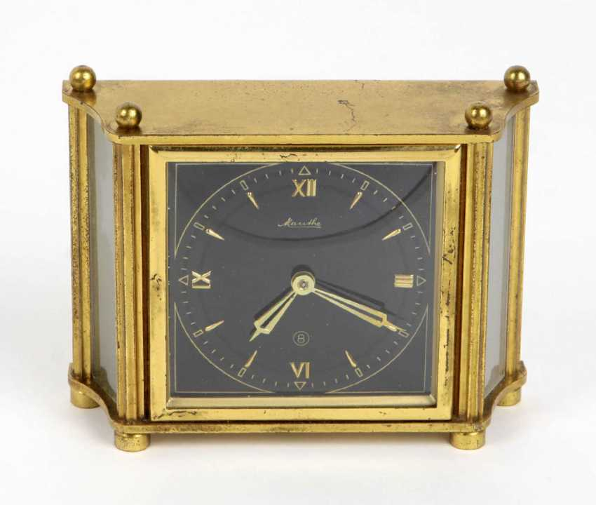 Mauthe table clock with 8-day movement - photo 1