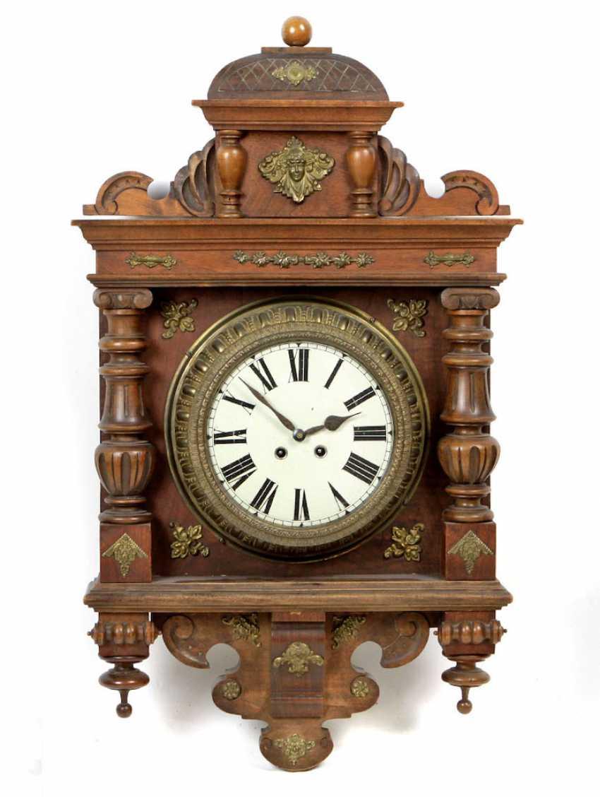 Historicism wall clock 1880 - photo 1
