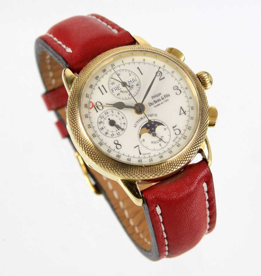 Mens Wrist Watch Yellow Gold 750 - photo 1