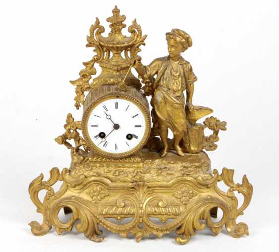 Mantel clock 1880 - photo 1