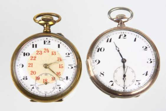 2 pocket watches - photo 1