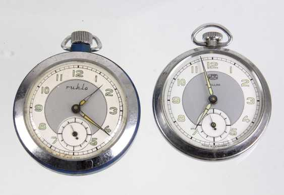 2 Men's Pocket Watches *Ruhla* - photo 1