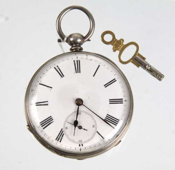 Key pocket watch 1880 - photo 1