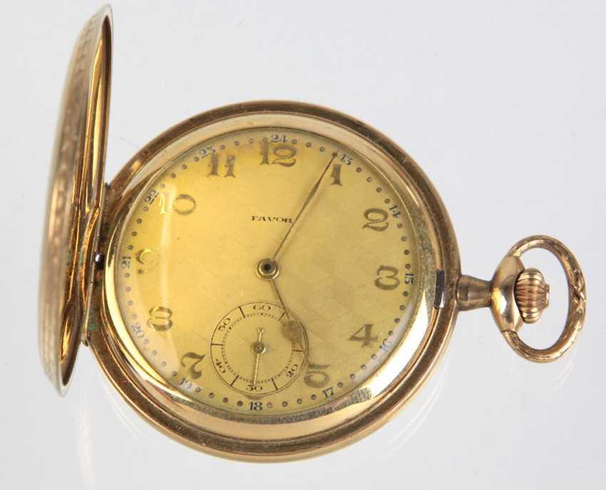 Savonette Pocket Watch In *Favour* - Golddoublé - photo 1