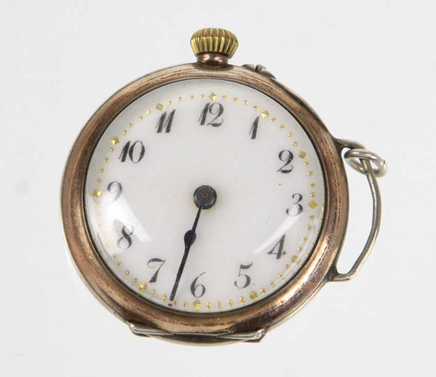 Ladies Pocket Watch, Silver 800 - photo 1