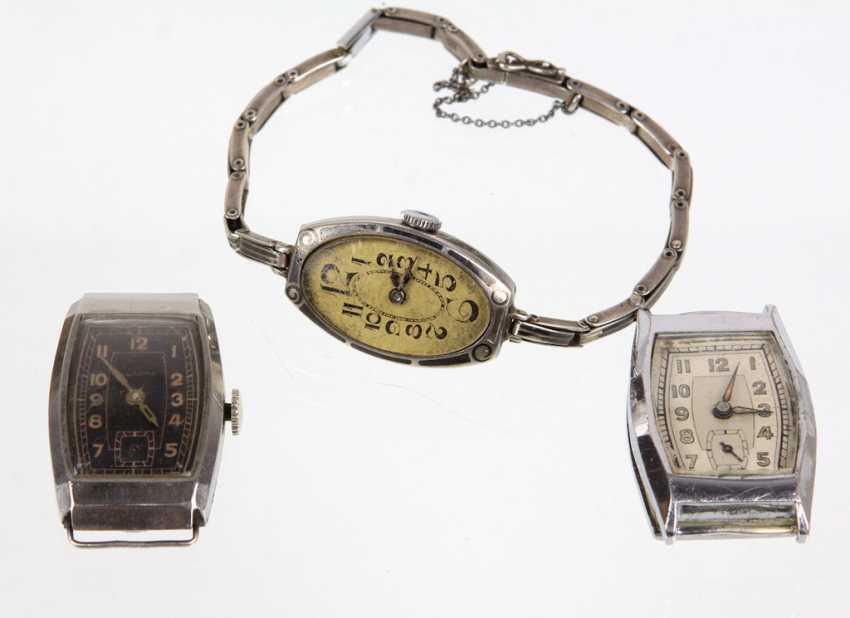 3 wrist watches - photo 1