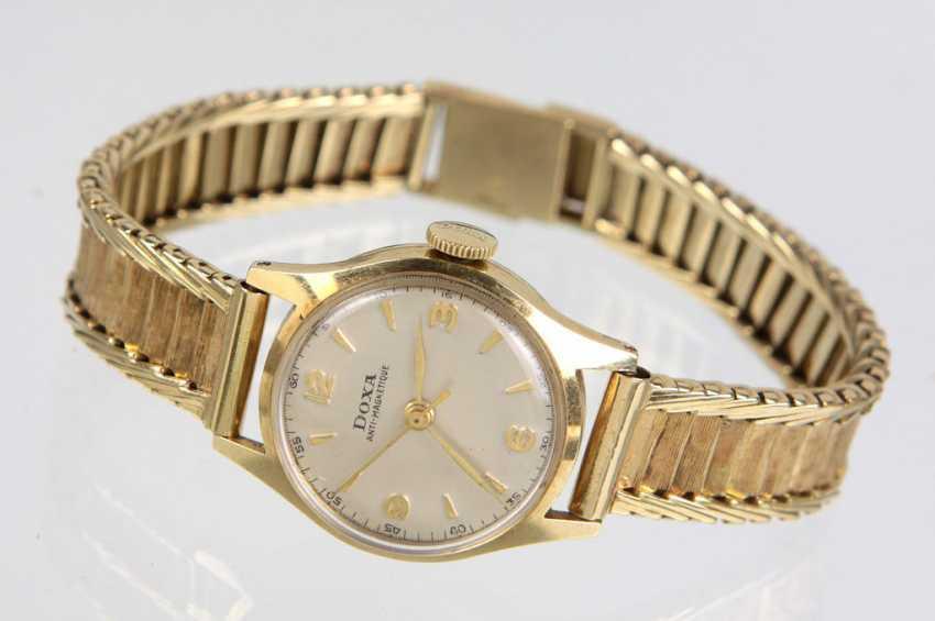*Doxa* Ladies Wrist Watch - Yellow Gold 585 - photo 1