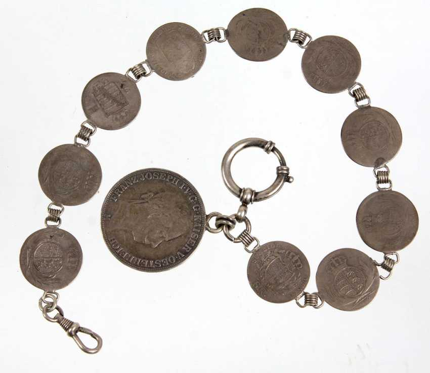 Coin watch chain - photo 1