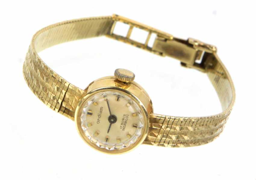 Ladies Watch - Yellow Gold 585 - photo 1