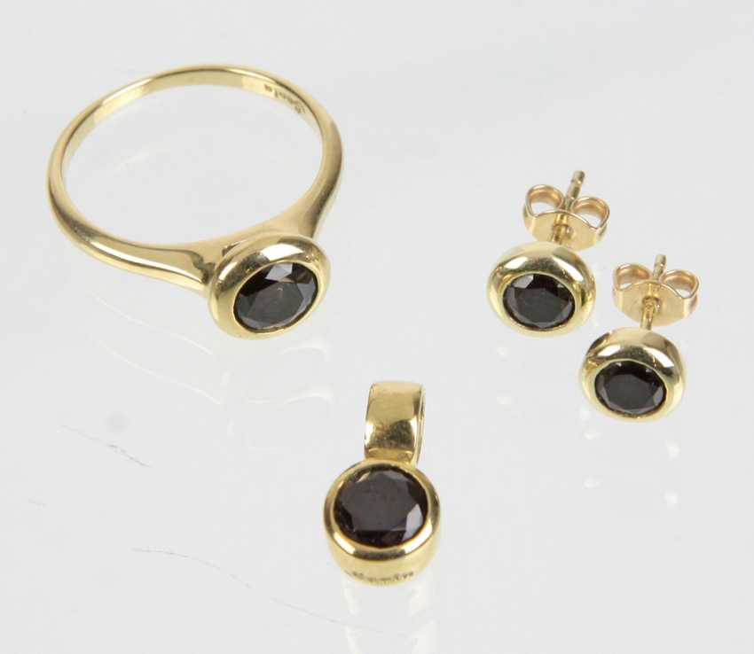 Spinel Jewelry - Yellow Gold 375 - photo 1