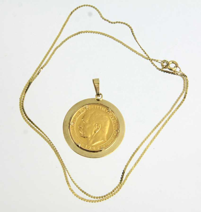 Medals Pendant - Yellow Gold 585 - photo 1