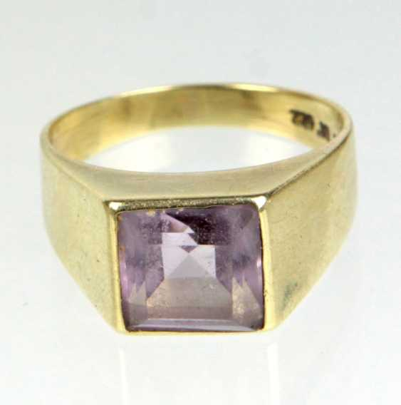 Amethyst Ring - Gelbgold 585 - photo 1