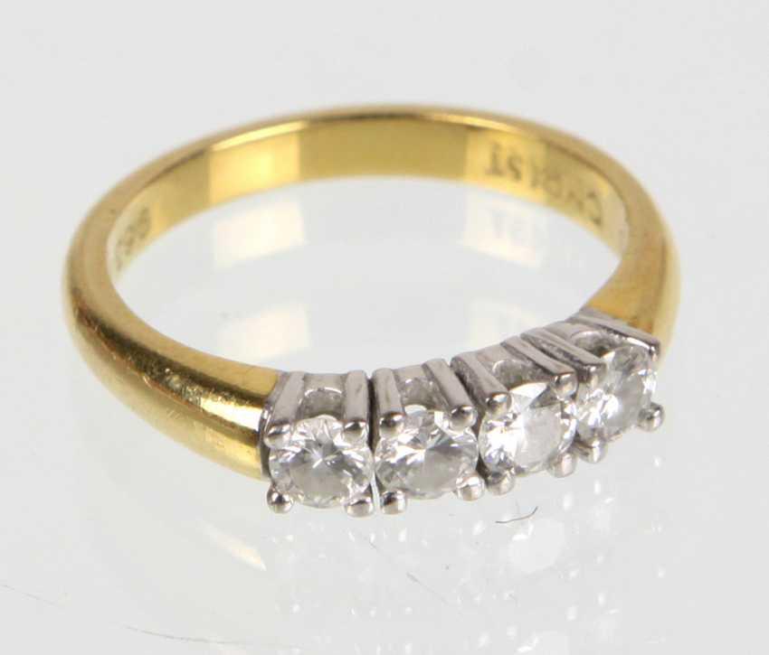 Brillant Ring - Gelbgold 750 - photo 1