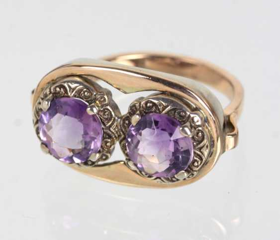 Amethyst Ring - Gelbgold 333 - photo 1