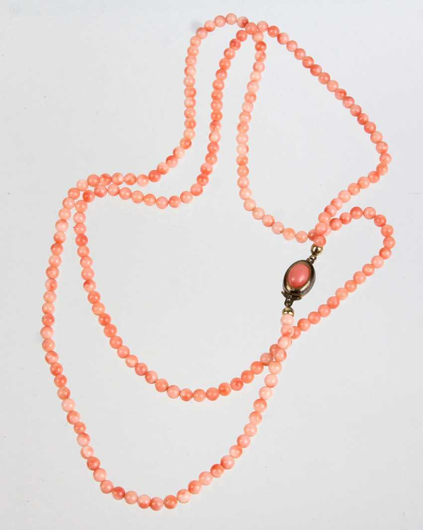 Angel Skin Coral Necklace - photo 1