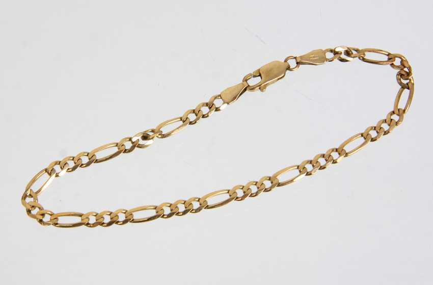 Figaro Armband - Gelbgold 333 - photo 1