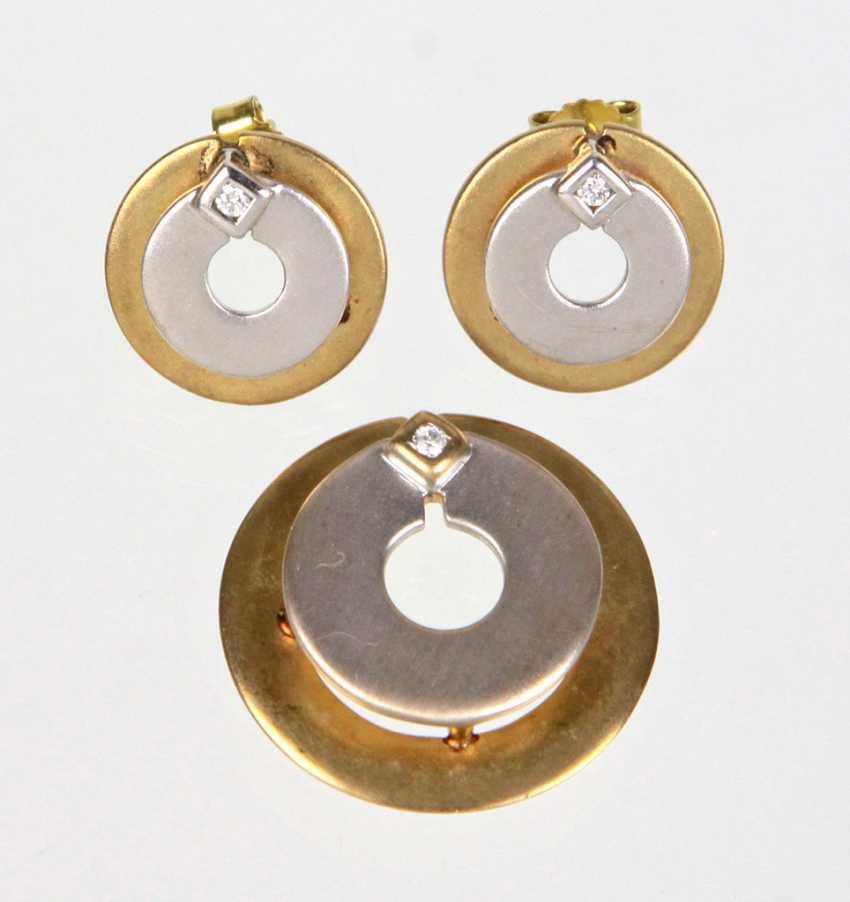 modern jewelry - yellow gold 333 - photo 1