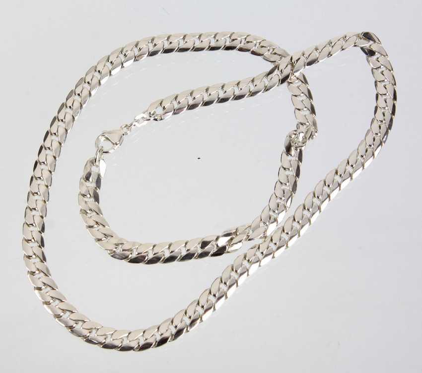 solid Flat curb chain - photo 1