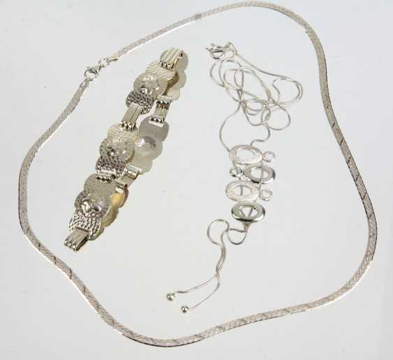 3 Parts Of Silver Jewelry - photo 1