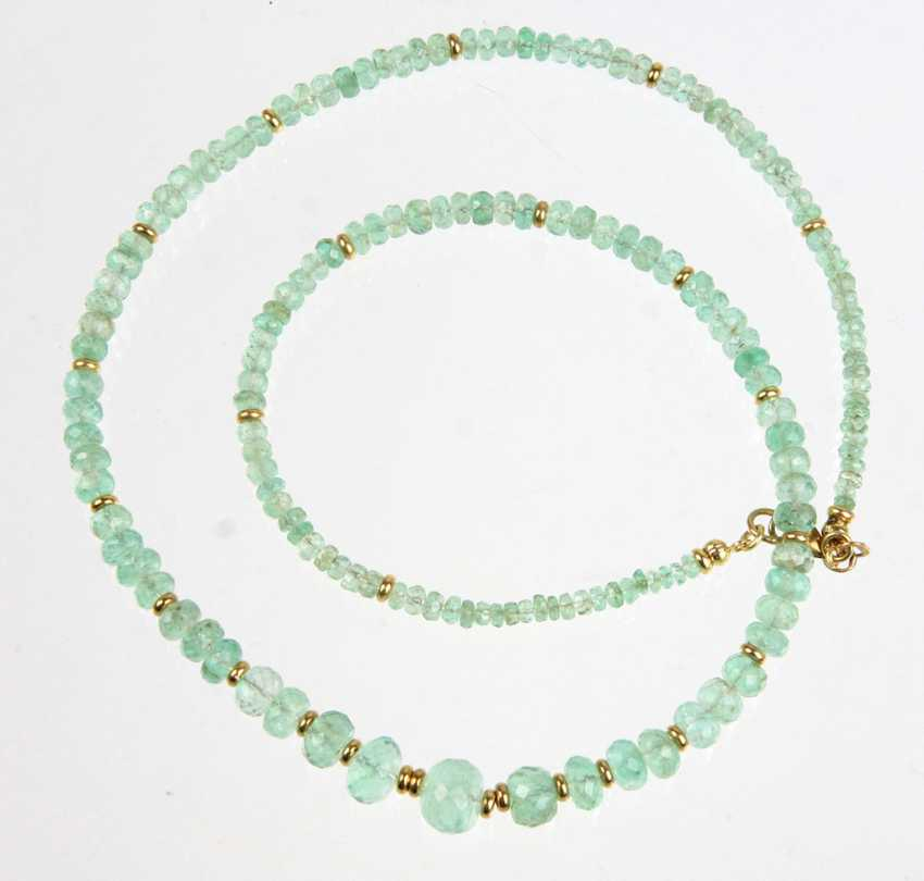 magnificent emerald necklace - photo 1