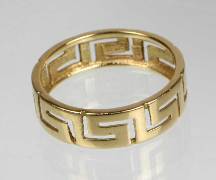 Meander Ring - Yellow Gold 333 - photo 1