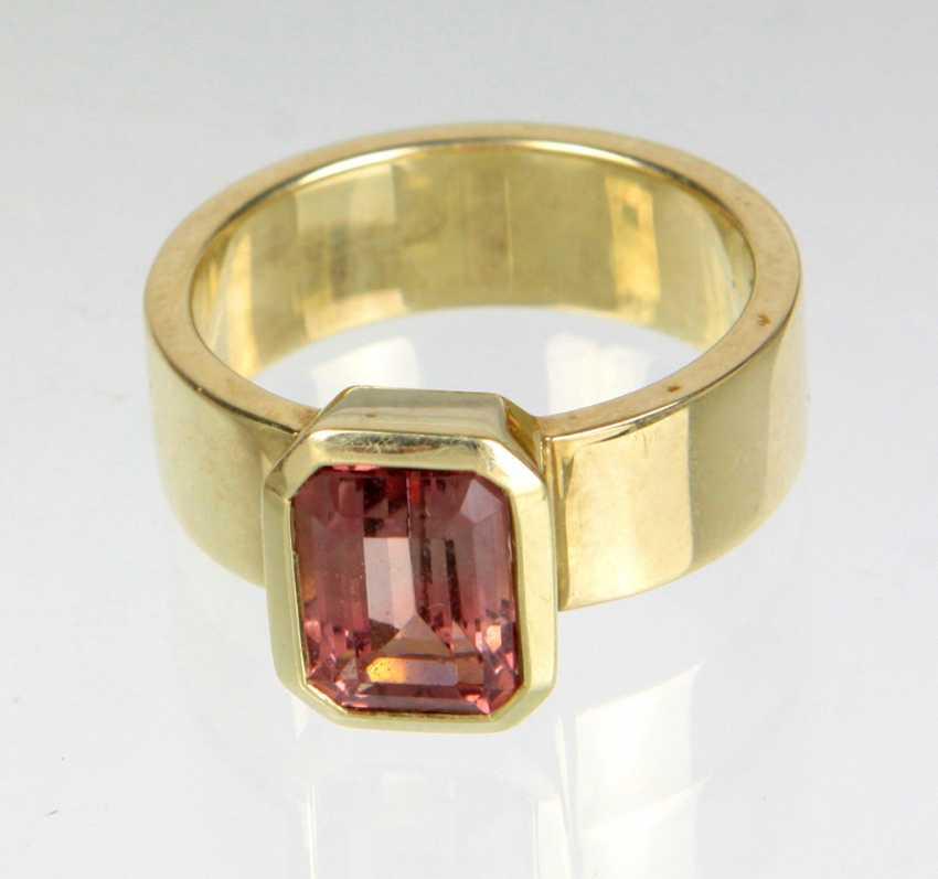 Turmalin Ring - Gelbgold 585 - photo 1