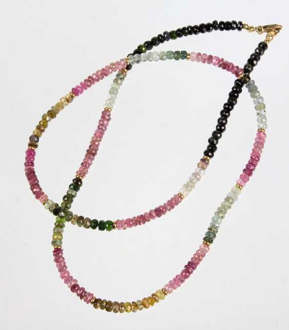 Multicolor Turmalinkette - photo 1