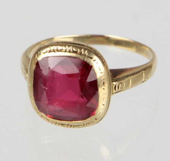 Jugendstil Ring - Gelbgold 585 - photo 1