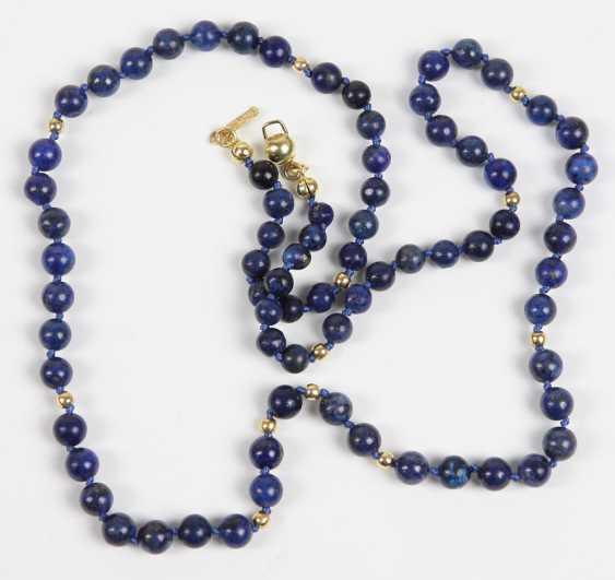Lapis Lazuli Necklace - photo 1
