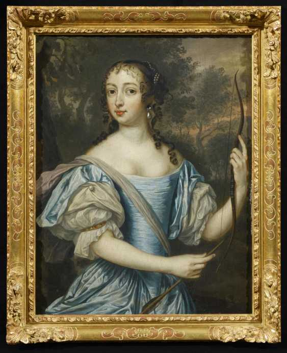 Two paintings: Portraits of Maria of orange-Nassau, as well as the Maria of the Palatinate Zweibrücken - photo 3