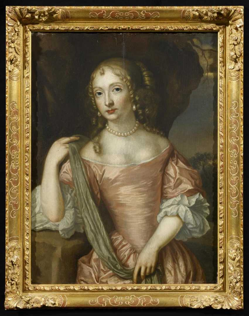 Two paintings: Portraits of Maria of orange-Nassau, as well as the Maria of the Palatinate Zweibrücken - photo 6