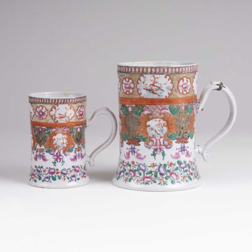 Few pitchers with Ornament - and-flower painting - photo 1
