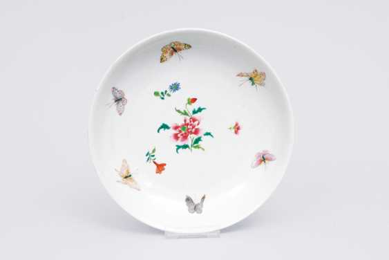 Family-rose bowl with butterflies - photo 1