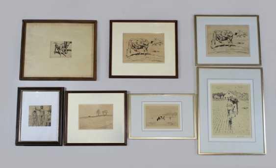 Albert Reibmayr (1881 Linz in 1941 Kleve) collection of 7 works - photo 1