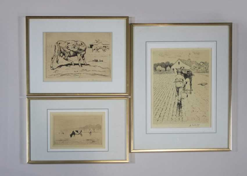 Albert Reibmayr (1881 Linz in 1941 Kleve) collection of 7 works - photo 2
