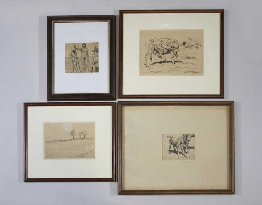 Albert Reibmayr (1881 Linz in 1941 Kleve) collection of 7 works - photo 3