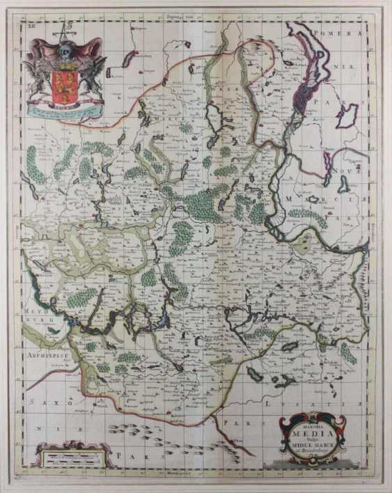 Copper engraving map - photo 1