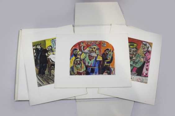 Nine color light prints after gouaches by Marc Chagall - photo 2