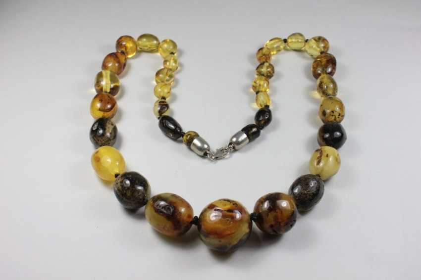 Amber necklace - photo 1