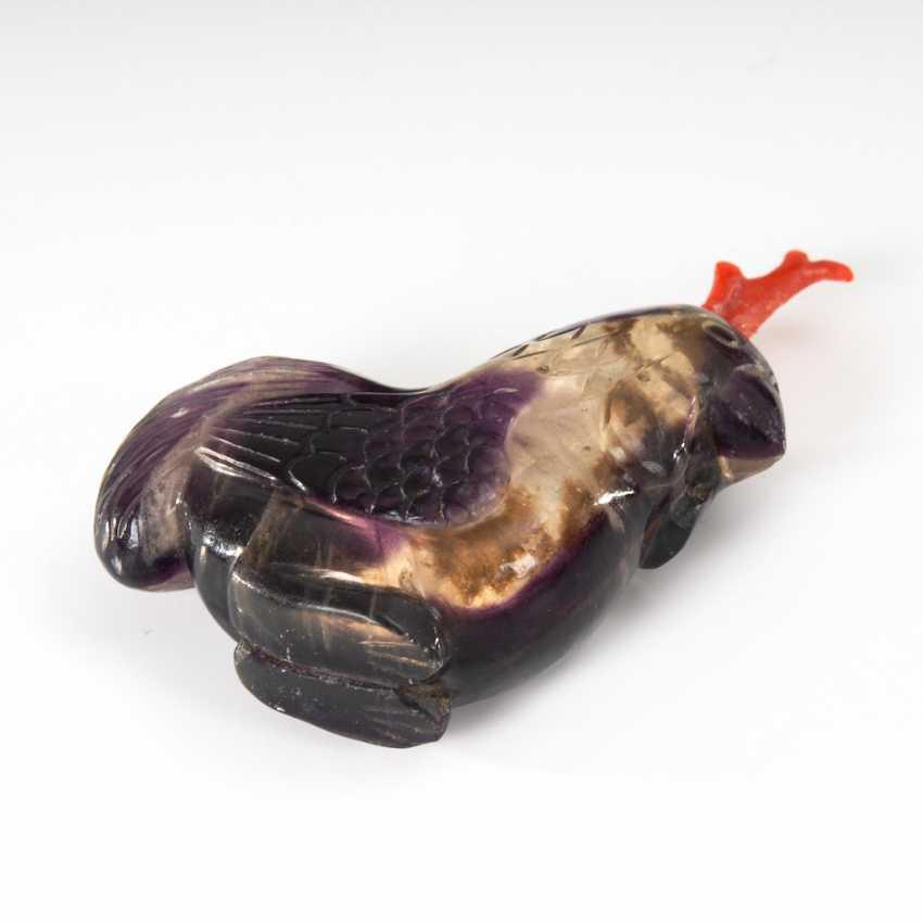 Snuffbottle in Form eines Hahns - Ameth - photo 2